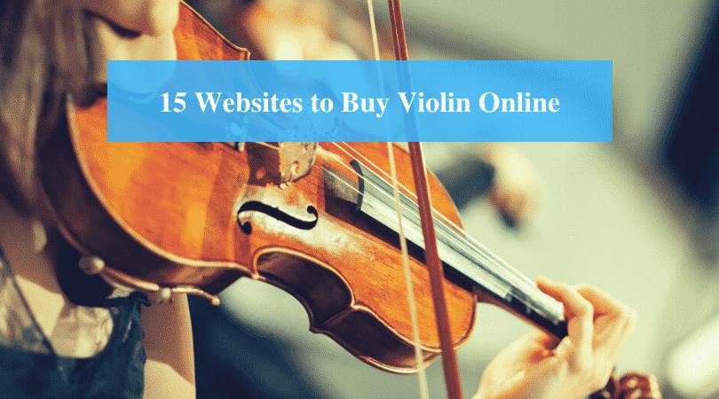 Websites to Buy Violin Online