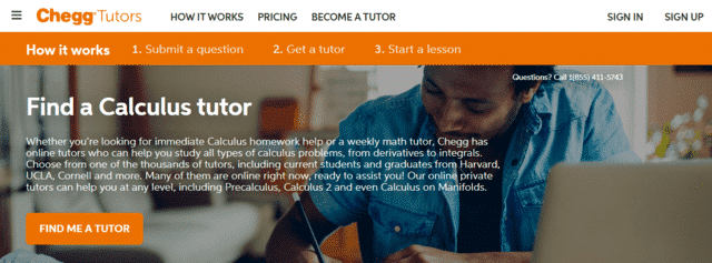 chegg learn calculus lessons online