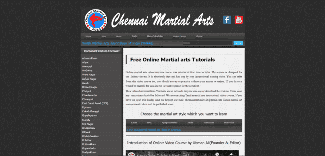 chennaimartialarts learn martial arts lessons online