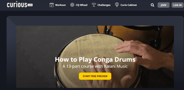 Curious Learn Conga Lessons Online