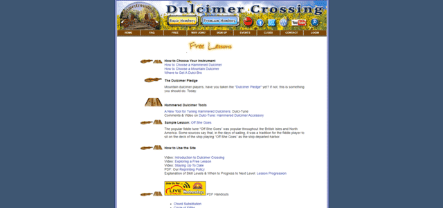 dulcimercrossing learn dulcimer lessons online