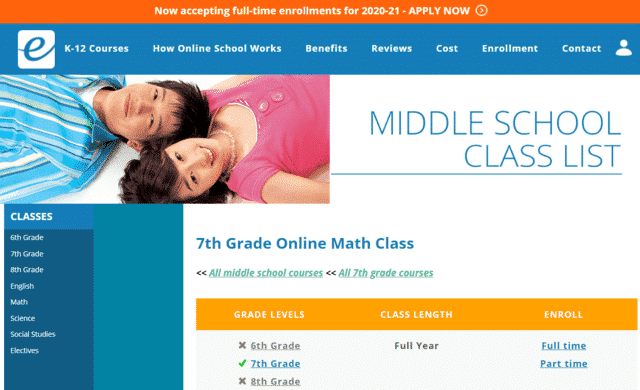 Eachieve Learn 7th Grade Math Lessons Online