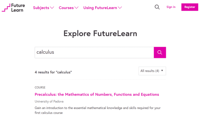 futurelearn learn calculus lessons online