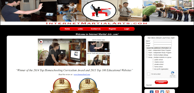 internetmartialarts learn martial arts lessons online