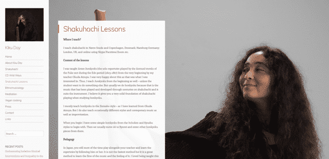kikuday learn shakuhachi lessons online