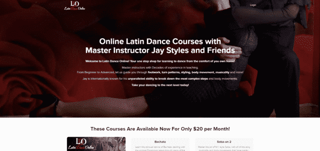 latindanceonline learn latin dance lessons online
