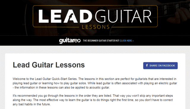 Leadguitarlessons Learn Lead Guitar Lessons Online