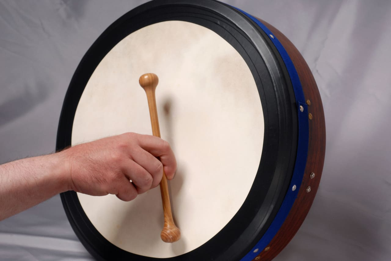 learn bodhran lessons online