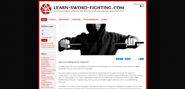 learnswordfighting learn sword fighting lessons online