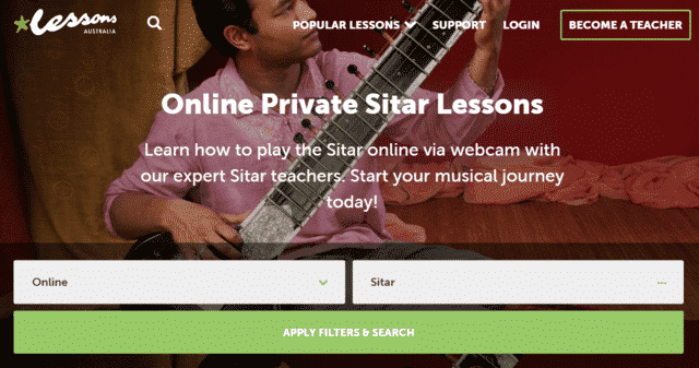 Lessonsaustralia Learn Sitar Lessons Online