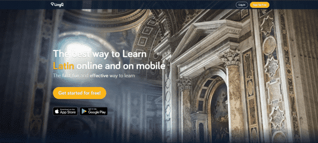 lingq learn latin lessons online
