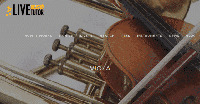 Livemusictutor Learn Viola Lessons Online