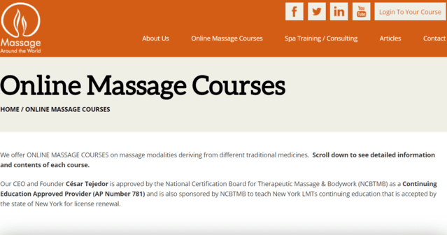 massagearoundtheworld learn massage lessons online