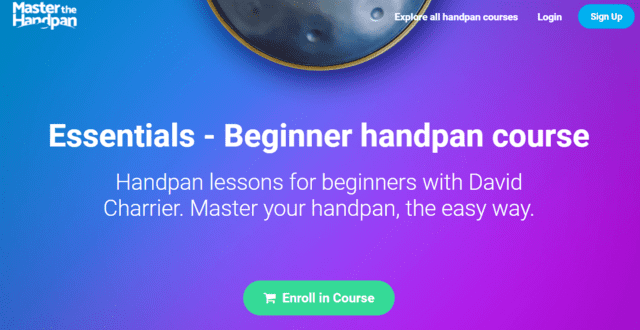 masterthehandpan learn handpan lessons online