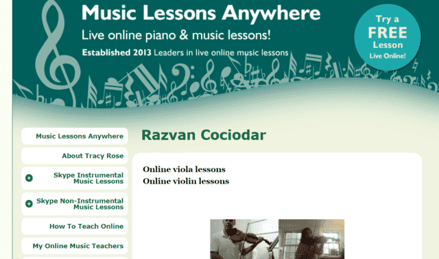 Musiclessonsanywhere Learn Viola Lessons Online