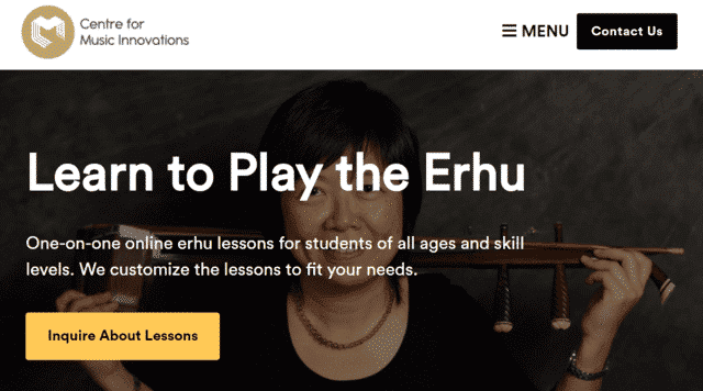 musinno learn erhu lessons online