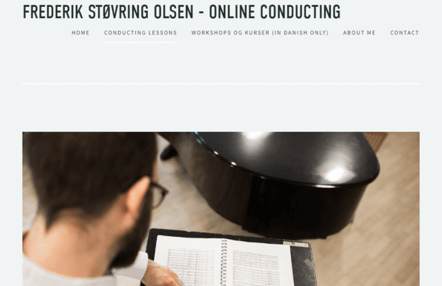 Onlineconducting Learn Music Conducting Lessons Online