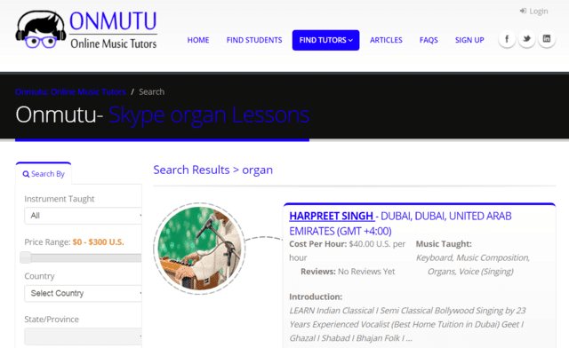 Onmutu Learn Organ Lessons Online