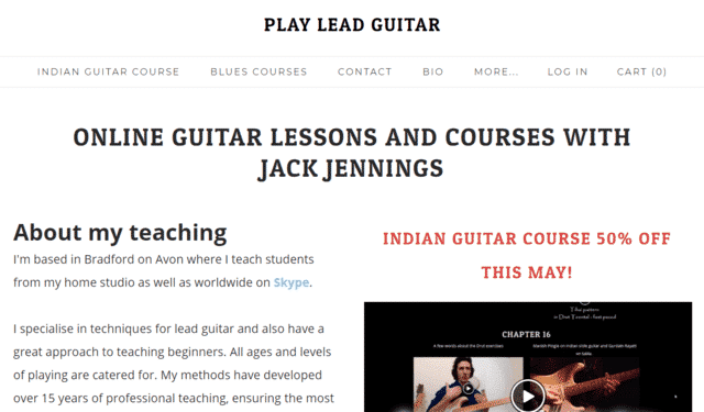 Playleadguitar Learn Lead Guitar Lessons Online