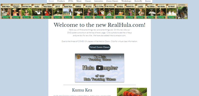 realhula learn hula lessons online