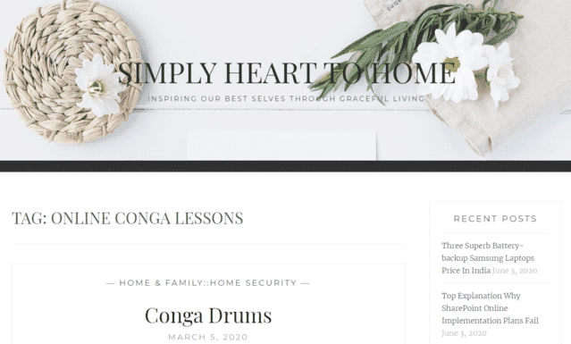 Simplyhearttohome Learn Conga Lessons Online