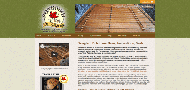 songbirdhd learn dulcimer lessons online