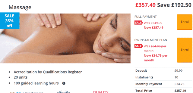 stonebridge learn massage lessons online