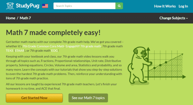 Studypug Learn 7th Grade Math Lessons Online