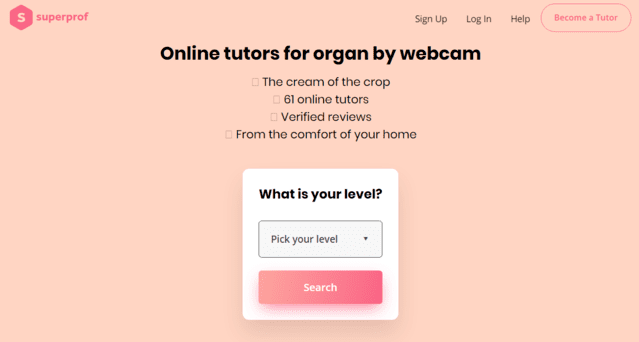 Superprof Learn Organ Lessons Online