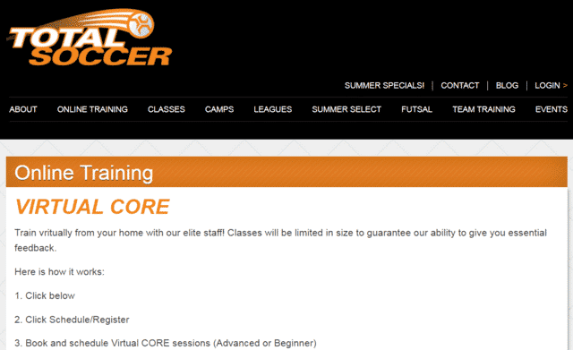 Totalsoccer Learn Soccer Lessons Online