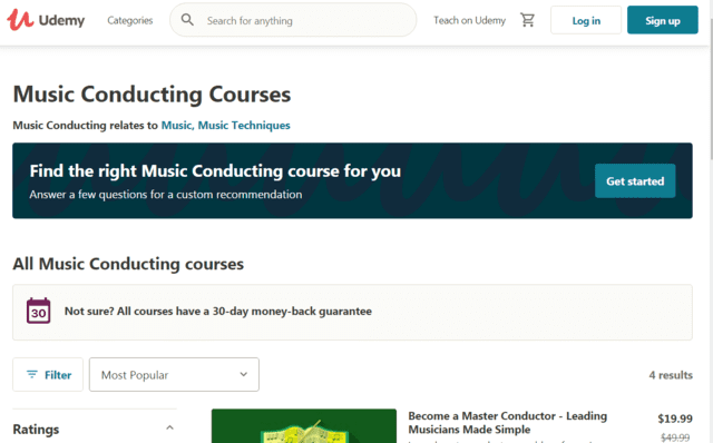 Udemy Learn Music Conducting Lessons Online