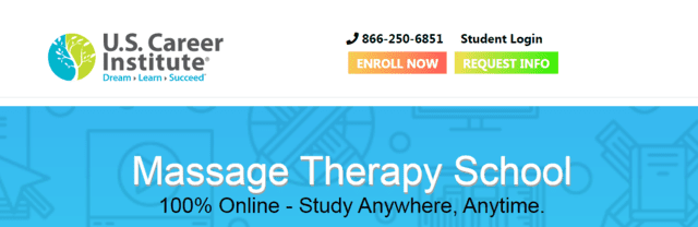 uscareerinstitute learn massage lessons online