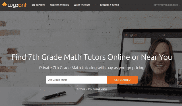 Wyzant Learn 7th Grade Math Lessons Online