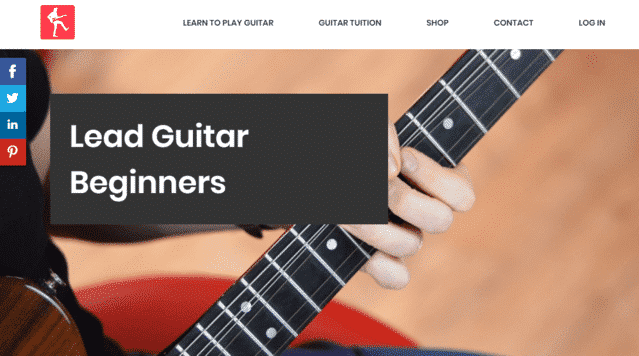 Yourguitaracademy Learn Lead Guitar Lessons Online