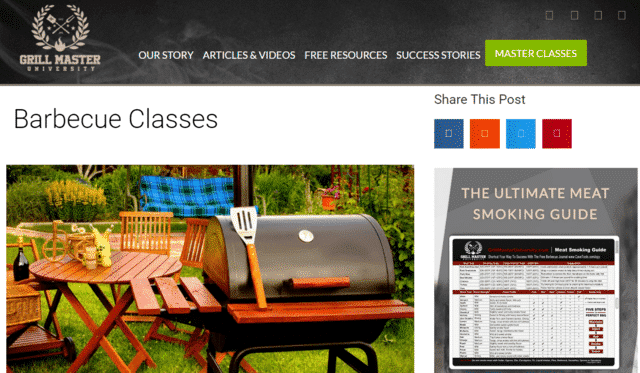 grillmasteruniversity learn bbq lessons online
