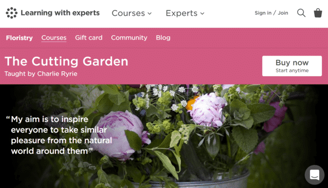 learningwithexperts learn gardening lessons online