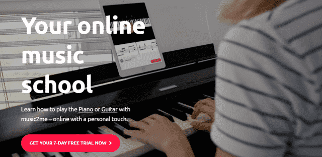 music2me learn piano lessons online