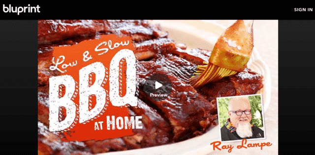 myblueprint learn bbq lessons online