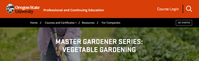 oregonstateuniversity learn gardening lessons online