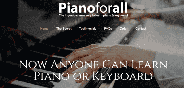 pianoforall learn piano lessons online