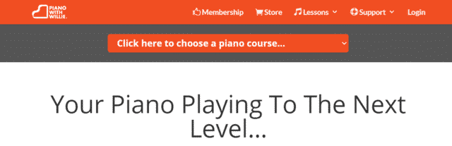 pianowithwillie learn piano lessons online