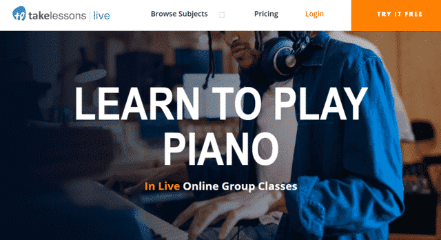 takelessons learn piano lessons online