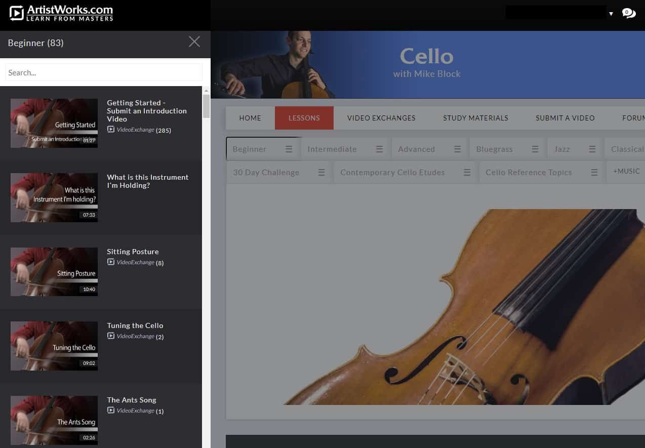 Artistworks cello lessons
