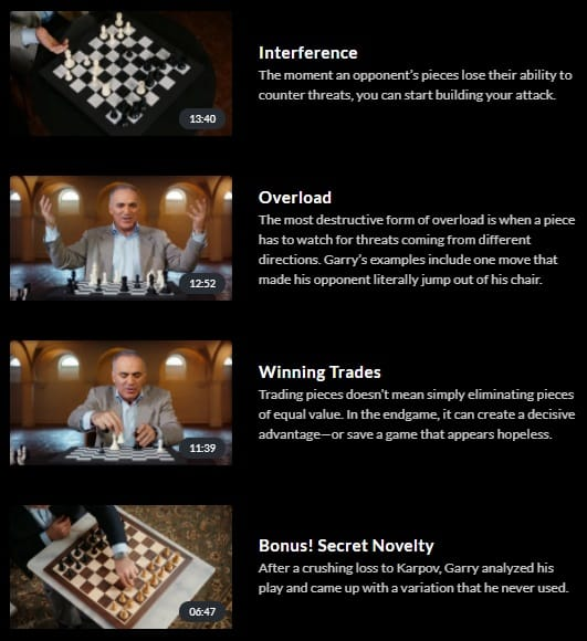 MasterClass Garry Kasparov Chess Tactics 2