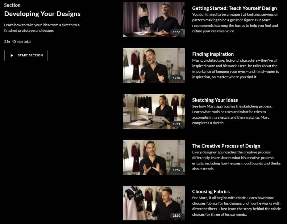 Masterclass Marc Jacobs S Fashion Design Lesson Online Review Cmuse