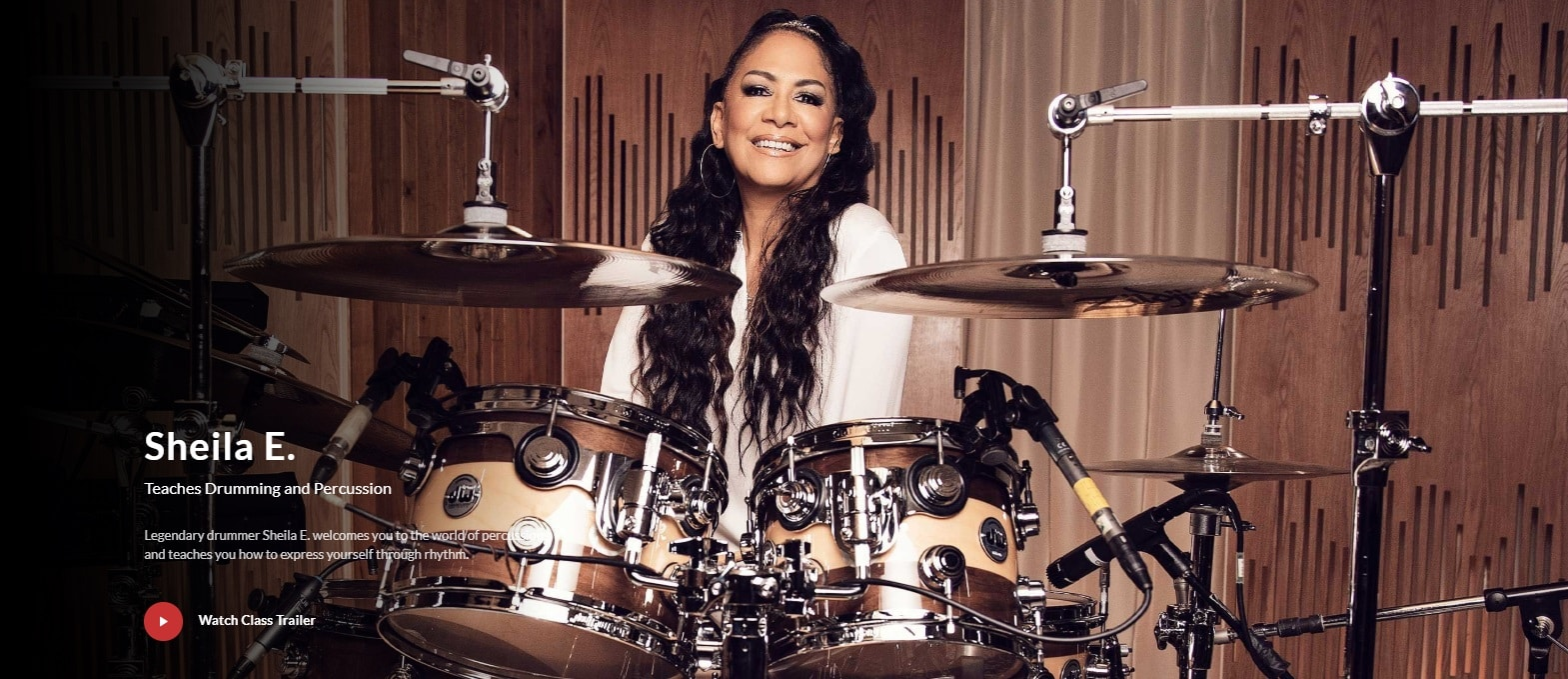 MasterClass Sheila E. Drumming and Percussion Lesson Review