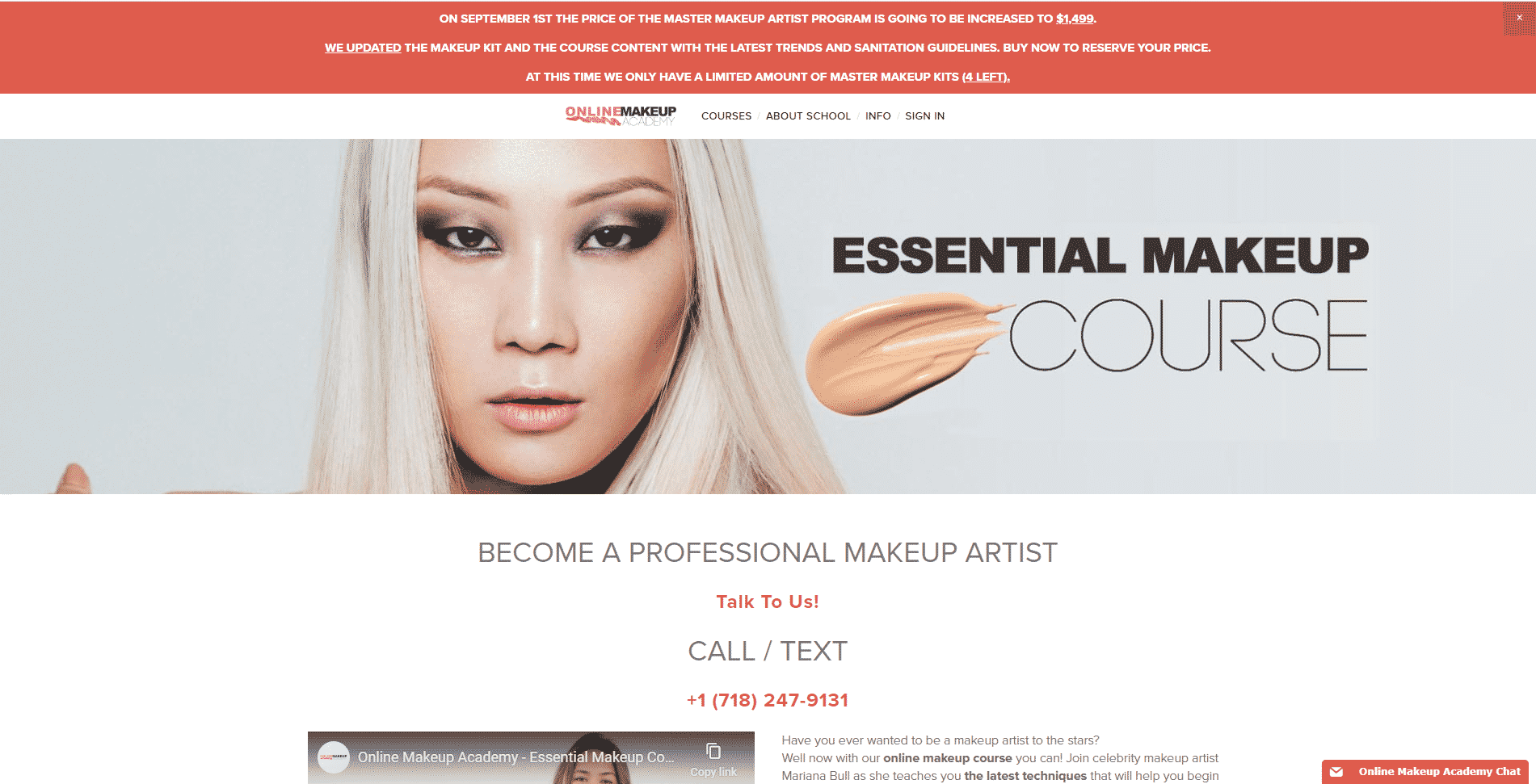 Online Makeup Academy Makeup and Beauty Lessons for Beginners