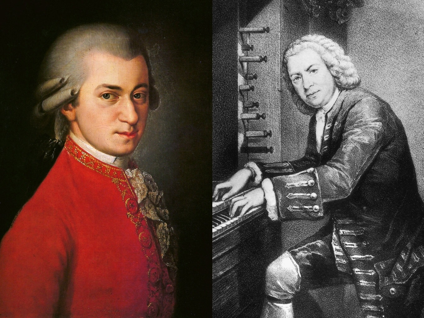 What Is The Difference Between Mozart And Bach