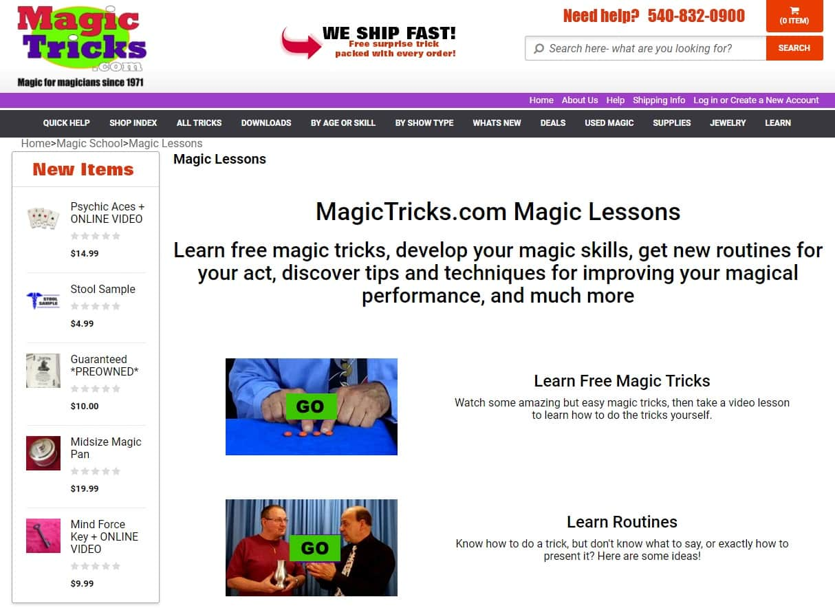 MagicTricks Magic Lessons for Beginners