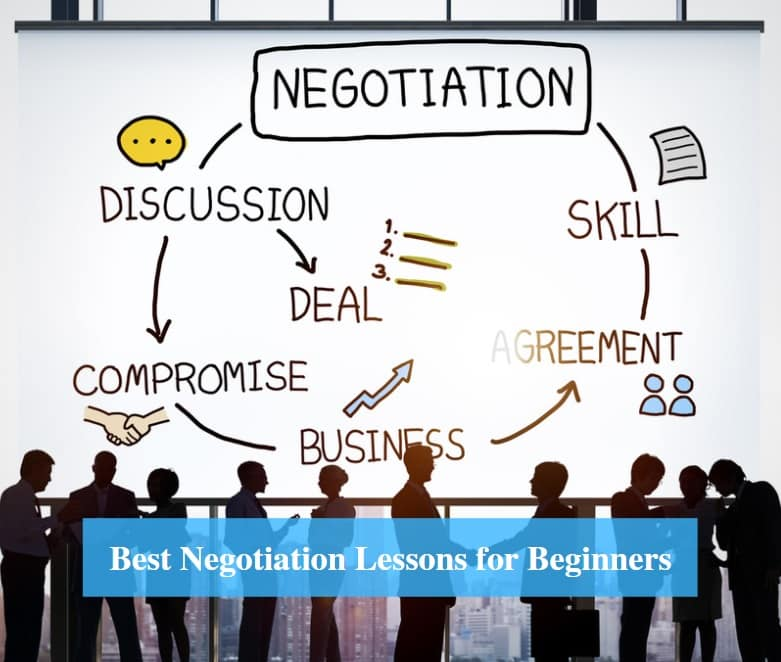 Negotiation Lessons for Beginners